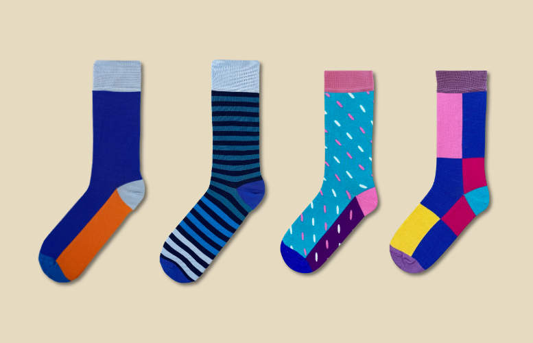 His & Hers socks - Rolling subscription - Monthly - 2 pairs per month