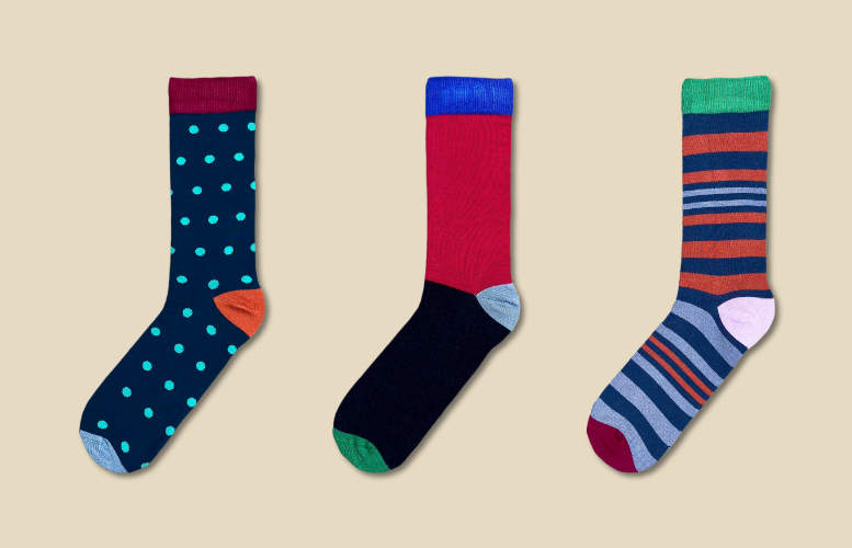 Men's socks - Rolling subscription - Monthly - 1 pair per month